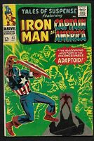 TALES OF SUSPENSE #82 MARVEL COMIC BOOK WITH CAPTAIN AMERICA AND IRON MAN