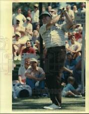 1988 Press Photo Dr. Gil Morgan, Golfer in Driving Competition - hps05774