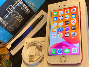 Apple iPhone 7 (32gb) Metro/ T-Mobile rSim (A1660) MiNT (Product)RED {iOS13}100%