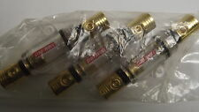 (3) 4 Gauge AGU Fuse holder 04130S With (5) 80 Amp Gold Glass AGU Fuses