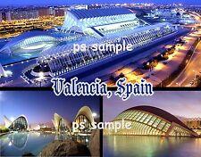 Spain - VALENCIA - Travel Souvenir Flexible Fridge Magnet