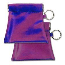 Futuristic Blue Purple Squeeze Coin Purse Lenticular #CP01-R005#