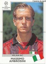 N°297 AMBROSINI MILAN.AC UEFA CHAMPIONS LEAGUE 1999/2000 STICKER PANINI ITALIA