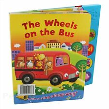 THE WHEELS ON THE BUS NOISY SOUND BOOK HARDBACK (Sound Boards) NEW