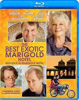 THE BEST EXOTIC MARIGOLD HOTEL (JUDI DENCH, MAGGIE SMITH) *****NEW BLU-RAY*****