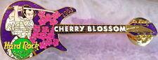 Hard Rock Cafe YOKOHAMA 2003 CHERRY BLOSSOM PIN Samurai on GUITAR - HRC #17531