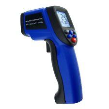 Sin Contacto Digital Termómetro Láser Infrarrojo IR -50~750°C Pirómetro 12:1 DS