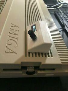 #New# Amiga 500 A500 Gotek USB Adapter Holder Mount + Oled
