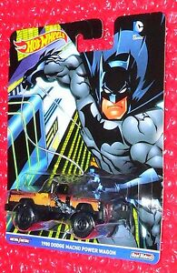 2016 Hot Wheels DC Comics 1980 Dodge Macho Power Wagon DJG77-4B10  Batman