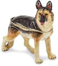 Bejeweled Deutscher Schäferhund Schmuckkästchen