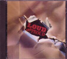 LOUD PROUD Rock CD Classic Hard Rock JUDAS PRIEST HURRICANE RAM JAM B.O.C