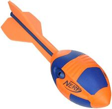 NERF Aero Vortex Howler Throwing Football Rocket Whistling Whistles Black A0364