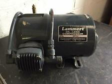 Lammert Oil-Less Piston Air Compressor, Cat. No. 34101-001, 1/2 HP, 230/460V, 3P