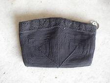 Vintage Small Black Cloth Handbag Purse