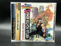 Virtua Fighter Remix (Sega Saturn, 1995)  from japan #1190