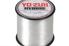 YO-ZURI HYBRID Fluorocarbon Fishing Line 25lb/600yd CLEAR NEW!