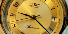 LEROY ,SWISS, AUTOMATIC ,COLLECTORS, ONCE A LIFE OFFER,DONT MISS,NOS
