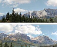 "Scenic Backdrop Rockie Mountains 260A (10' L x 24"" H) Premier HO Scale"
