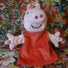 PEPPA PIG HAND GLOVE PUPPET SOFT TOY ENTERTAINMENT ONE UK 2003