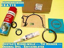 ORIG OPEL Dichtsatz Kurbelwelle Dichtung Ölpumpe Calibra A C20LET C20XE 4x4 2,0