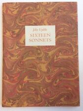 John Updike Sixteen Sonnets SIGNED Limited First Edition
