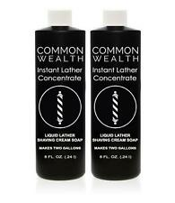 Common Wealth Instant Liquid Hot Lather Machine Concentrate Shaving Cream Soap