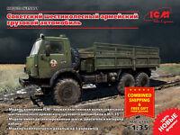 ICM 35001 - 1/35 Soviet Six-wheel Army Truck scale model kit ***NEW***