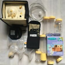 Medela Breast Pump in Style Advanced Double Accessories Battery Pack Adapter etc