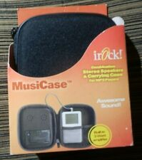 Stereo Speakers Carrying Case for Mp3 Player irock MusiCase New 3Watt Amplifier