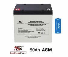 12V 50Ah Sunstone Power Akku AGM GEL Blei Batterie Bleiakku Bleigel 45 55 60Ah