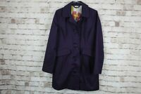 Boden Purple Coat size Uk 12 No.U467 06/3