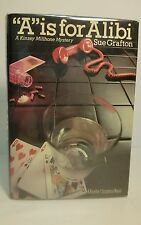 """""""A"""" is for Alibi, Sue Grafton 1982 Hardcover First Edition"""