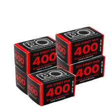 5 Rolls JCH Street Pan 400 35mm 135-36EXP  B&W Print Film Fresh 2023