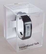 SONY SWR30 SMARTBAND TALK BLUETOOTH 3.0 SMART WATCH MAKE CALLS FROM WRIST BLACK