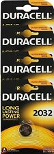 4 x Duracell CR2032 3V Lithium Coin Cell Battery Latest Packaging EXPIRY 2024