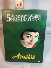Amelie (Dvd, 2002, 2-Disc Set, Special Edition) - Used