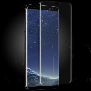 CURVED TEMPERED GLASS EDGE TO EDGE SCREEN PROTECTOR FOR SAMSUNG GALAXY S8 S8+ S9