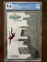 Amazing Spider-Man #700 CGC 9.6 (Marvel 2013) NY Skyline Variant!  Key!