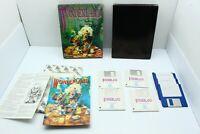 Vintage 1990 Commodore Amiga WONDERLAND Game by Virgin *TESTED, WORKING*