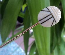 Vintage Celuloide Escarabajo Escarabajo Insecto Art Deco Alfiler/pin de palo c.1920s