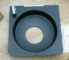 Linhof wista fit 15mm recessed  Lens board with 34.7mm compur copal 0 low hole