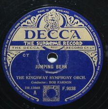 """10"""" 78 - The Kingsway Symphony Orchestra - Jumping Bean - Decca F9038 - 1948"""