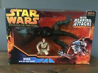 Star Wars Revenge of The Sith Hasbro Boga Obi-Wan Kenobi Action Figure