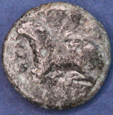 Ancient Greek AE bronze coin. 11mm *[14636]