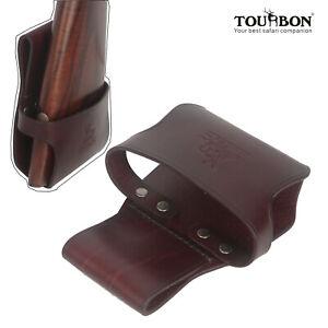 Tourbon Shotgun/Rifle Holder Leather Gun Hip Holster Stock Pouch for Belt in USA