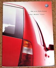 2000-01 VW POLO ESTATE Sales Brochure - E S SE, 1.4, 1.6, SDI, TDI 90, TDI 110
