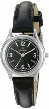 Grovana Swiss 26mm Sapphire Black Leather Women's Watch 3207.1137 3207-1137