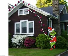 Whoville Grinch Stealing Lights #3 Woodworking Pattern Christmas Patternsrus
