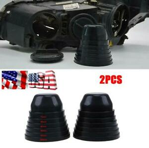 Seal Dust Cover 5 Size for Car Headlight Headlamp LED HID Rubber Cap Accessories