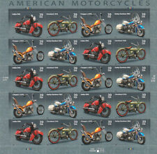 "Stamps USPS One Pane Of ""American Motorcycles"" 2005 39 Cent MNH Fast Shipping"